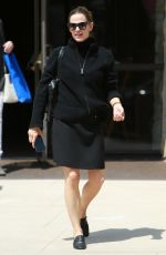 Jennifer Garner Seen exiting church services with the kids in Los Angeles