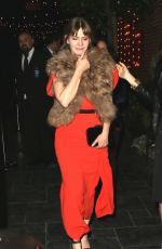 Jennifer Jason Leigh Arrives at the after party for Showtime TV premiere in Los Angeles