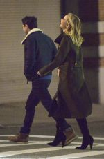 Jennifer Lawrence Goes on a dinner date with a mystery man in NYC