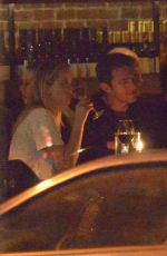 Jennifer Lawrence Goes to a group dinner with friends in NYC