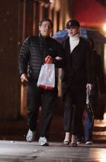 Jennifer Lawrence Going out for dinner with producer film director David O Russell in the upper East side of New York City
