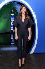 Jessica Biel At The American Express Experience in New York