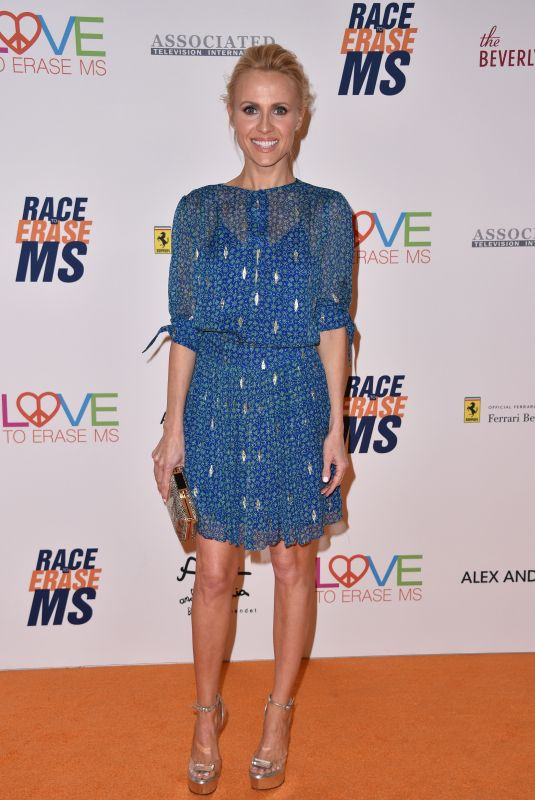 Jessica Holmes At 25th Annual Race to Erase MS Gala, Los Angeles