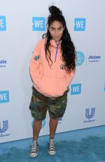 Jessie Reyez At WE Day California in Los Angeles