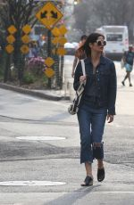 Jill Hennessy Out in West Village, New York City