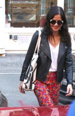 Jill Hennessy Seen shopping in the East Village in New York City