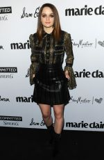 Joey King Attends Marie Claire