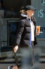 Karlie Kloss Visiting at a cryotherapy spa after a gym workout in NYC