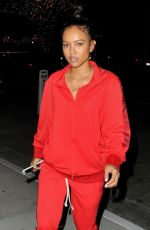Karrueche Seen leaving The Henry in West Hollywood