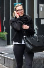 Kate Winslet Chats on the phone while out and about in New York