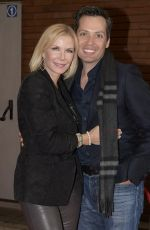 """Katherine Kelly Lang At """"Maurizio Costanzo Show"""" at Voxson Studios in Rome, Italy"""
