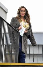 Kelly Brook Seen at the ITV Studios in London, England