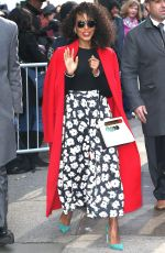 Kerry Washington Arrives for Lehman College 50th anniverssary awards dinner at the Ziegfeld Theater in NY