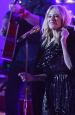 Kylie Minogue Gives a zesty live performance at the BBC One Show in London, England