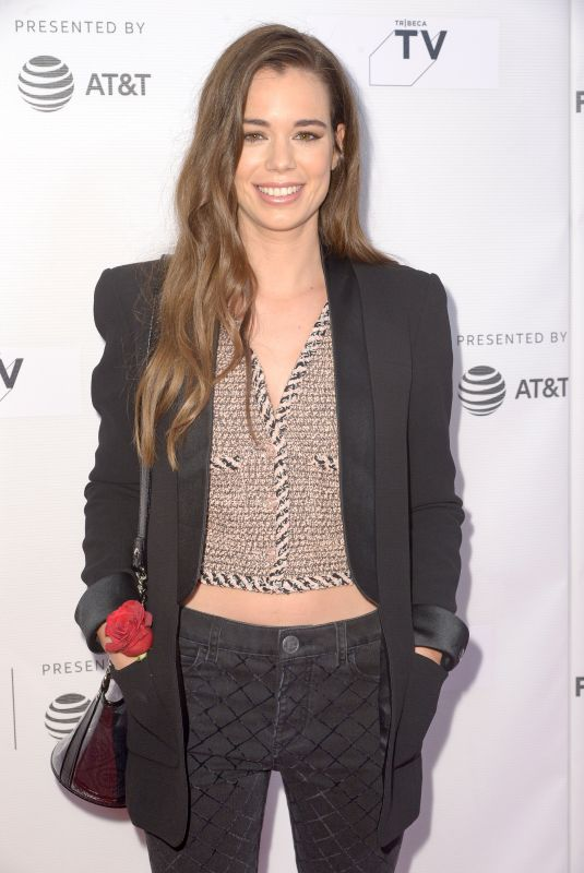 Laia Costa At Screening of Maine during the 2018 Tribeca Film Festival, New York