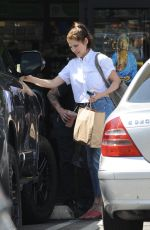 Lake Bell Seen in West Hollywood