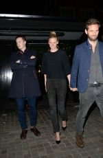 Lara Stone Spotted leaving the popular celebrity haunt the Chiltern Firehouse in London