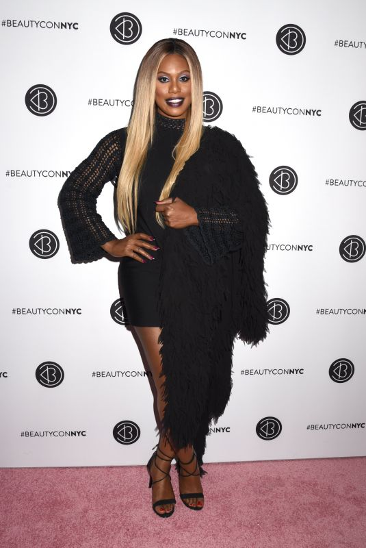 Laverne Cox At Beautycon Festival NYC