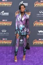 Letitia Wright At Disney and Marvel