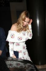 Lily James Leaving