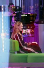 Lily James Stops by The One Show at BBC One Studios in London