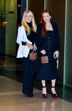 Lindsay Lohan and mother all smiles out for Michael Lohan