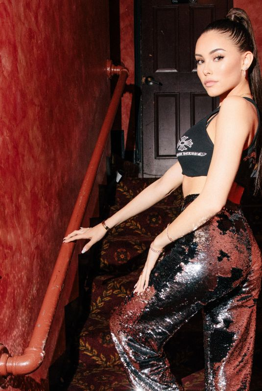 Madison Beer Seen at the Belasco Theater before her performance in Los Angeles