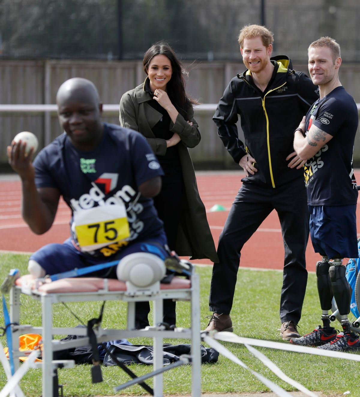 Meghan Markle & Prince Harry Attends The UK Team Trials