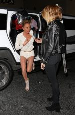 Mel B At Night out in Los Angeles