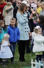 Melania Trump At 140th White House Easter Egg Roll in Washington