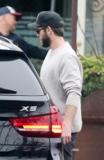 Miley Cyrus and Liam Hemsworth out and about in Malibu