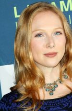 Molly Quinn At Dwayne Johnson Honored at the LA Family Housing Awards 2018 held at The Lot in West Hollywood