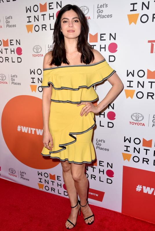 Monica Barbaro At 9th Annual Women in the World Summit, New York