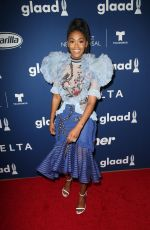 Nafessa Williams At 29th Annual GLAAD Media Awards Rising Stars Luncheon in Beverly Hills