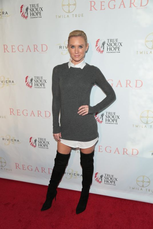 Nicky Whelan At Regard Magazine Spring 2018 Cover Unveiling Party at Riviera 31 in West Hollywood