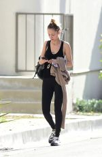 Nicole Richie Hits the gym for a morning workout in Los Angeles