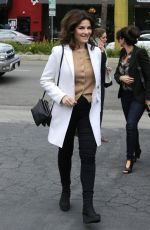 Nigella Lawson Is seen on Extra! at Universal Studios Hollywood in Los Angeles