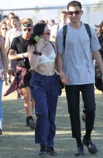 Noah Cyrus At Coachella Valley Music and Arts Festival in Palm Springs