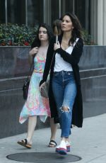Olivia Munn Seen with a friend in Westwood
