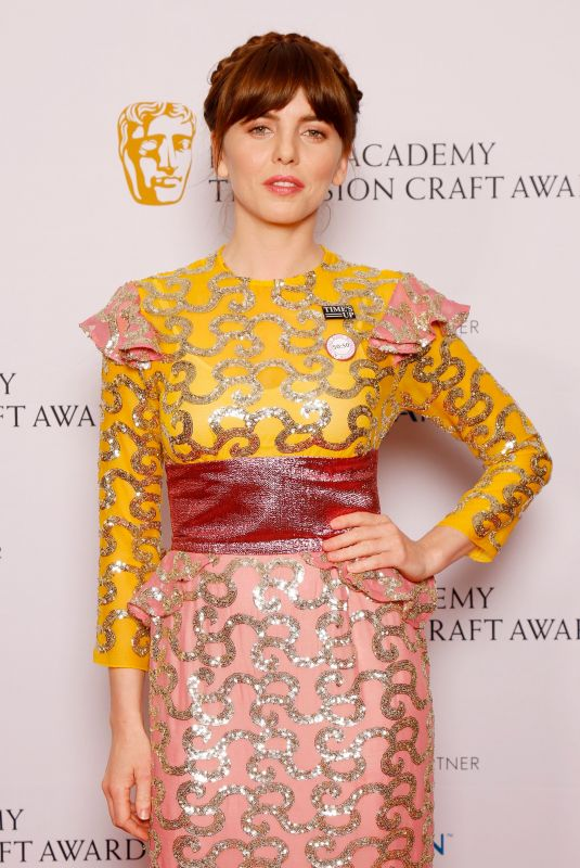 Ophelia Lovibond At British Academy Television Craft Awards, London, UK