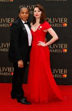 Ophelia Lovibond At The Olivier Awards, Royal Albert Hall, London, UK