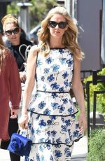 Paris and Nicky Hilton and mom Kathy Hilton hit the streets of Beverly Hills in style
