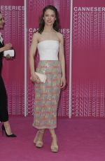 """Paula Beer At The 1st Cannes International Series Festival - April 11th 2018 - Closing Ceremony and """"Safe"""" Pink Carpet Arrivals"""
