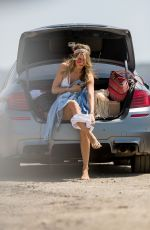 Rachel McCord At Coachella Valley Music and Arts Festival in Palm Springs