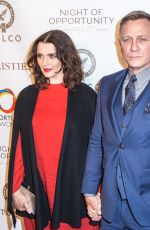 Rachel Weisz and Daniel Craig During the Annual Night of Opportunity Gala, New York City