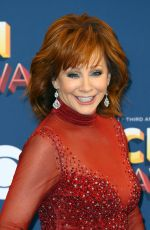 Reba McEntire At 53rd Annual Academy of Country Music Awards, Arrivals, Las Vegas