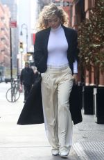 Rita Ora Arrives at an office for a business meeting in New York