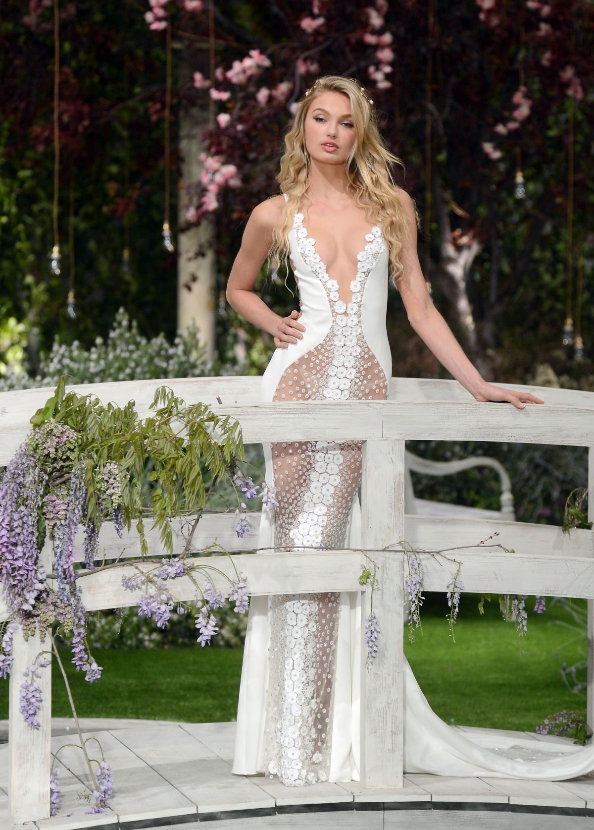 baaa37270a7 Romee Strijd At Rehearsal for Atelier Pronovias 2019 collection – Barcelona