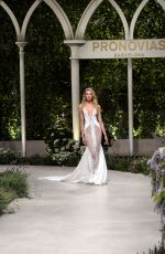Romee Strijd At Rehearsal for Atelier Pronovias 2019 collection - Barcelona, Spain