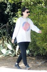 Rooney Mara Out for a hike in LA